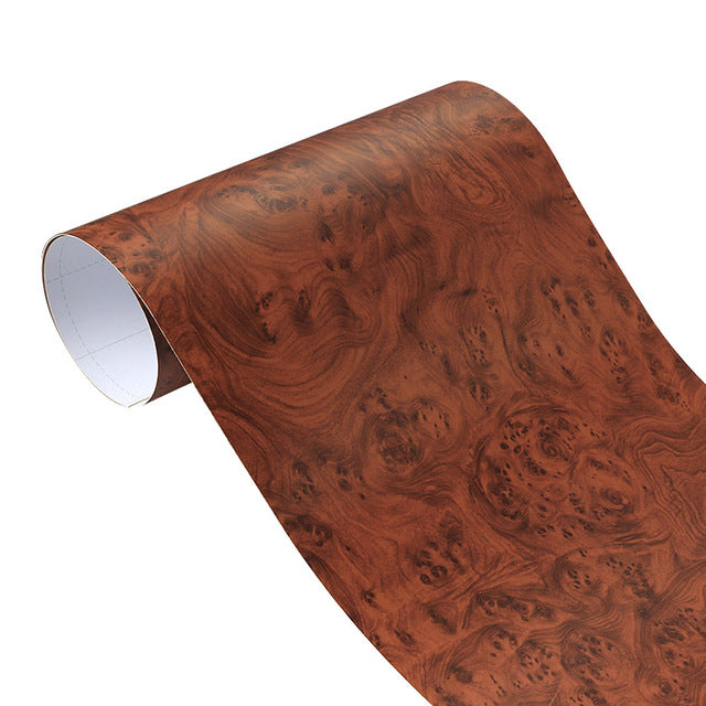 Matte Wood Grain Pattern Vinyl Wrap