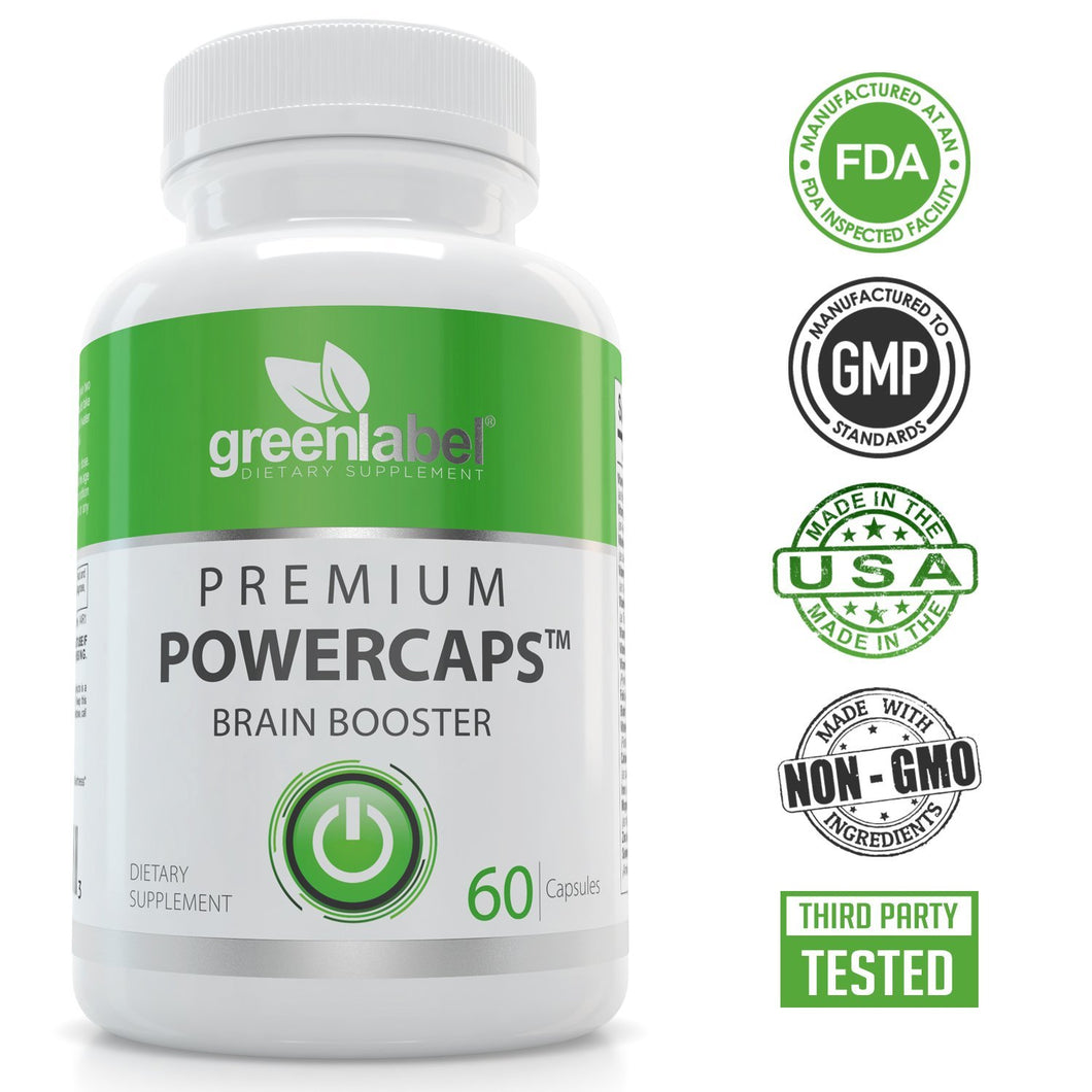 Premium Brain Booster & Focus Supplement - GL Health & Wellness
