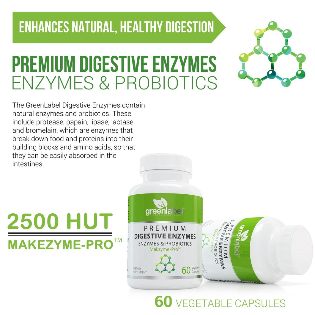 Premium Digestive Enzymes With Probiotics. - GL Health & Wellness