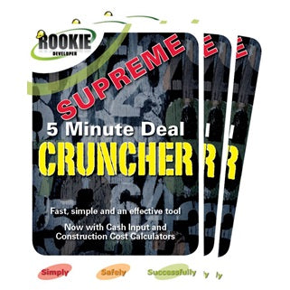 Rookie Developer 5 Minute Deal Cruncher Supreme DVD