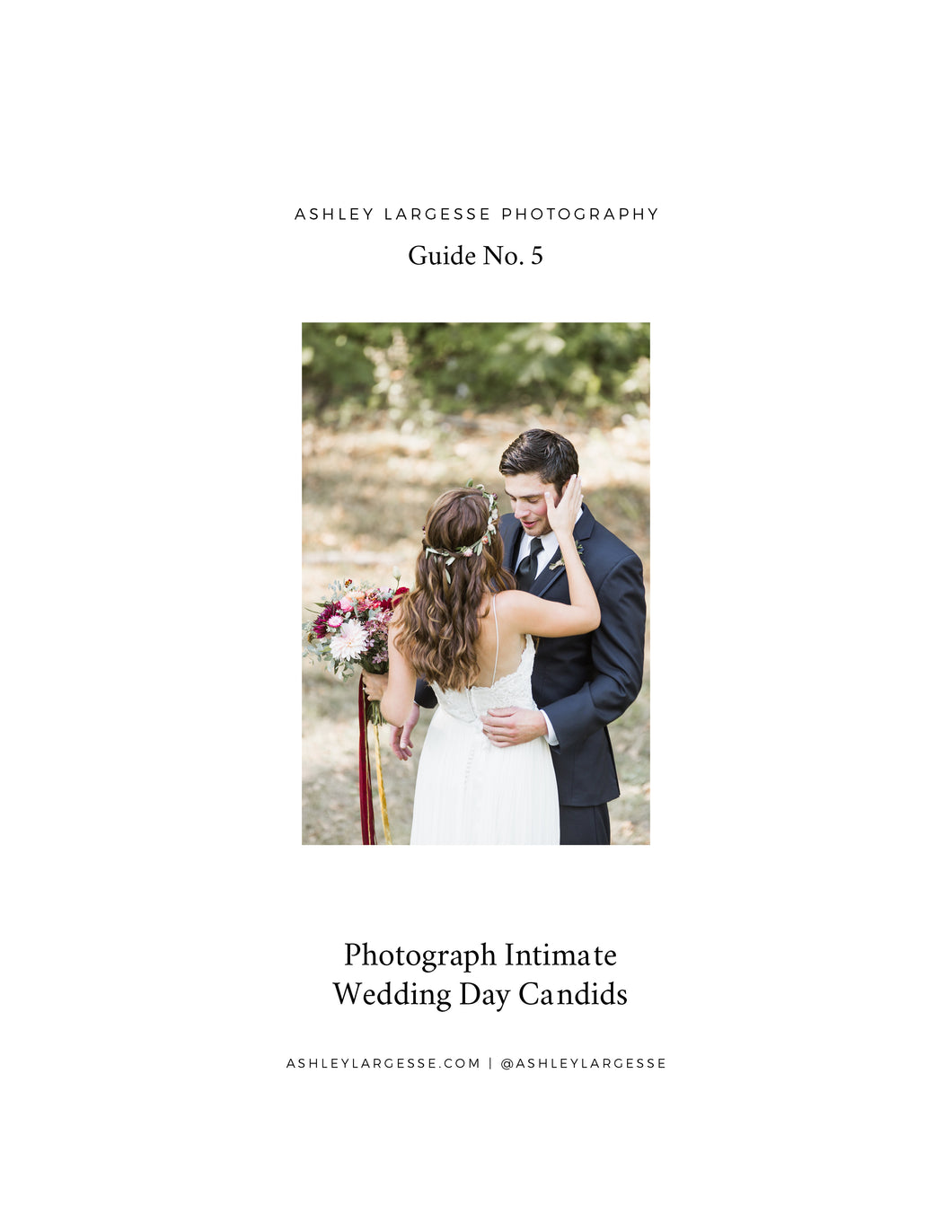 Photograph Intimate Wedding Day Candids