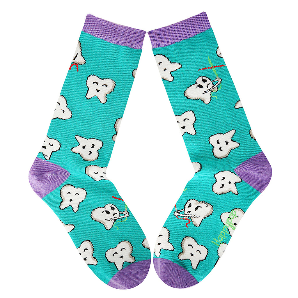 Dental Teeth Socks - Happypop