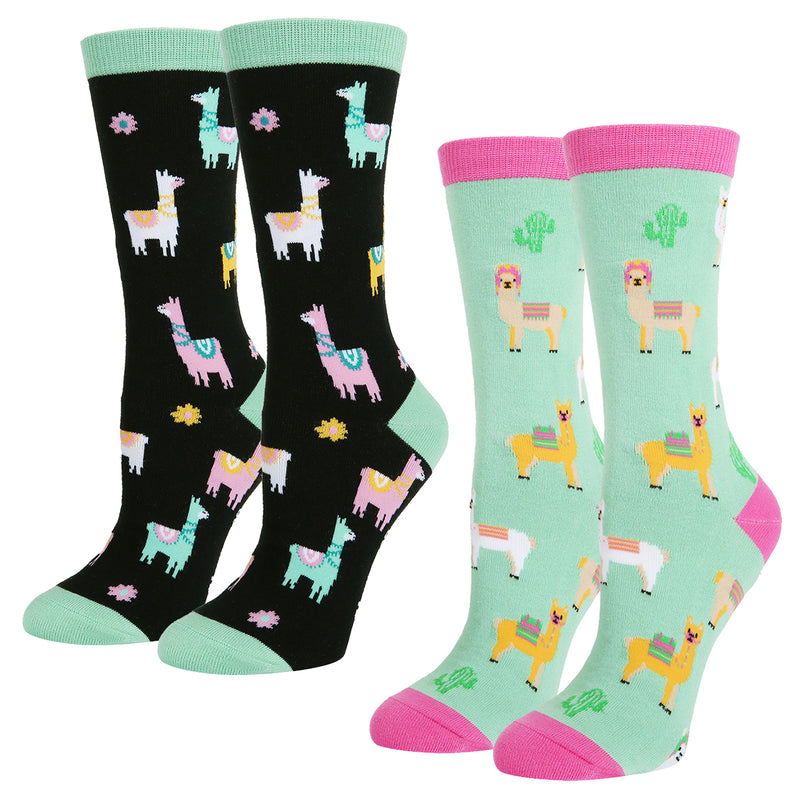 Poop Unicorn Alpaca Socks Gift Box