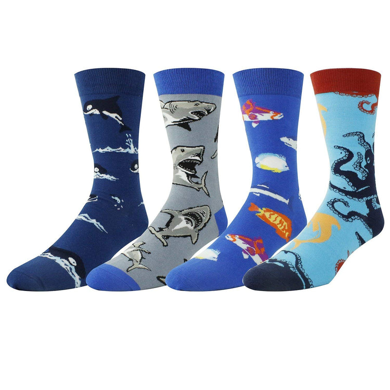 Sea Animals Socks Gift Box - Happypop