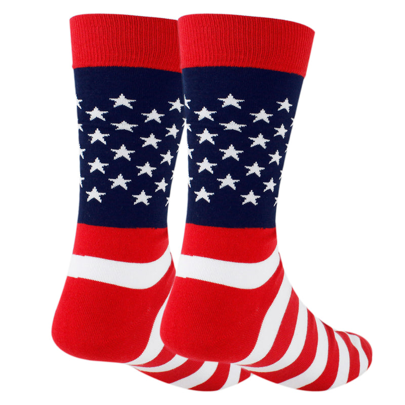 Patriotic Flag Socks - Happypop