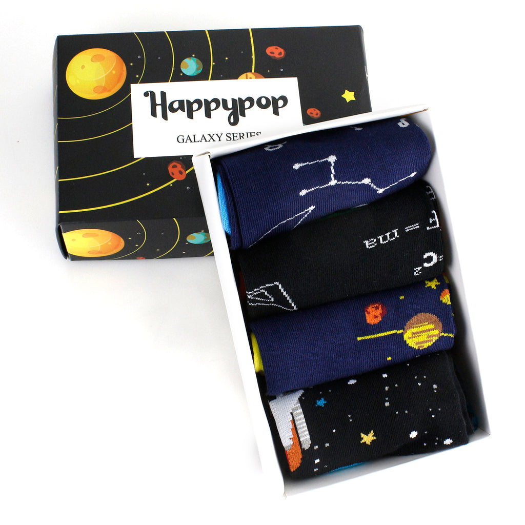 Ankle Space Socks Gift Box - Happypop