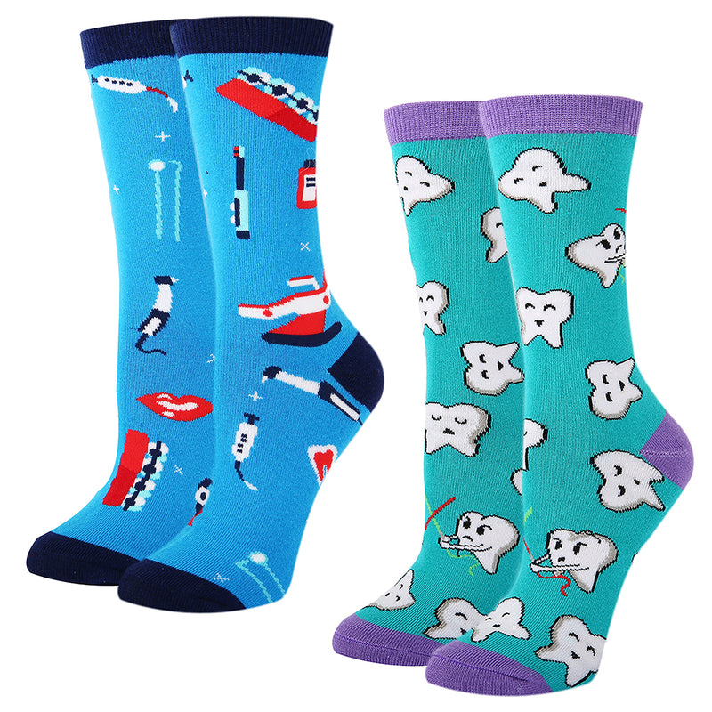 Girls Narwhal Socks Gift Box