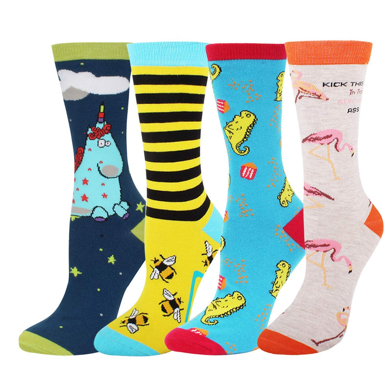 Fairy Animals Socks Gift Box - Happypop
