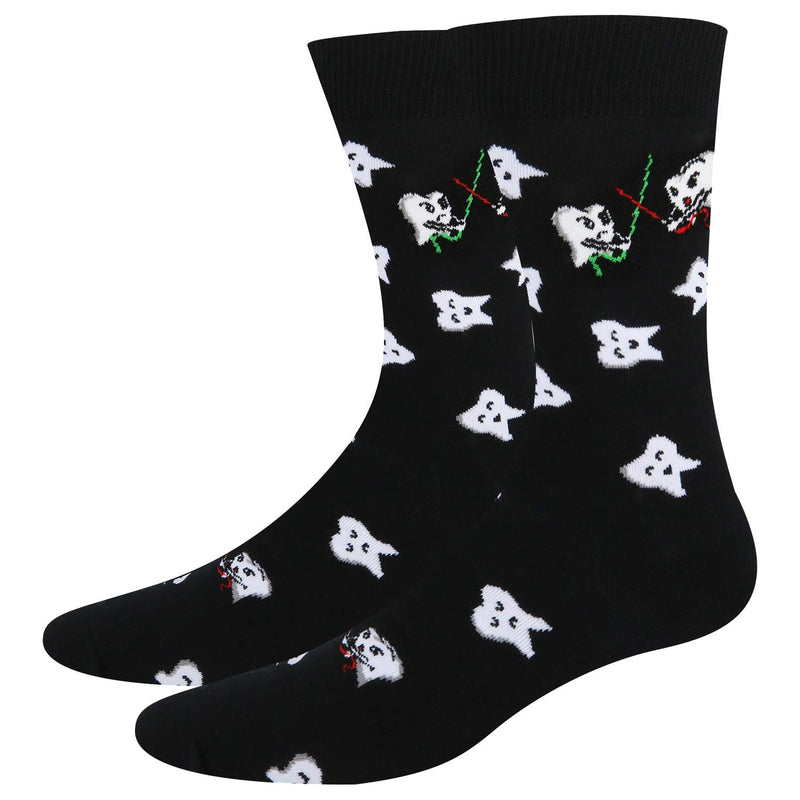 Teeth Fight Socks - Happypop