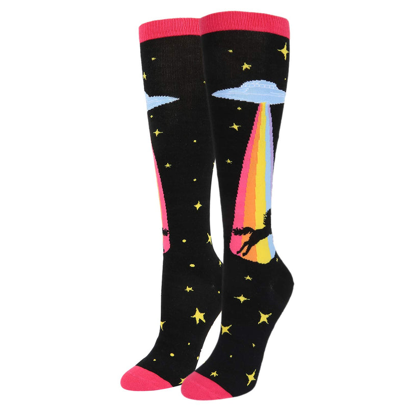 Knee High Rainbow Unicorn Socks - Happypop