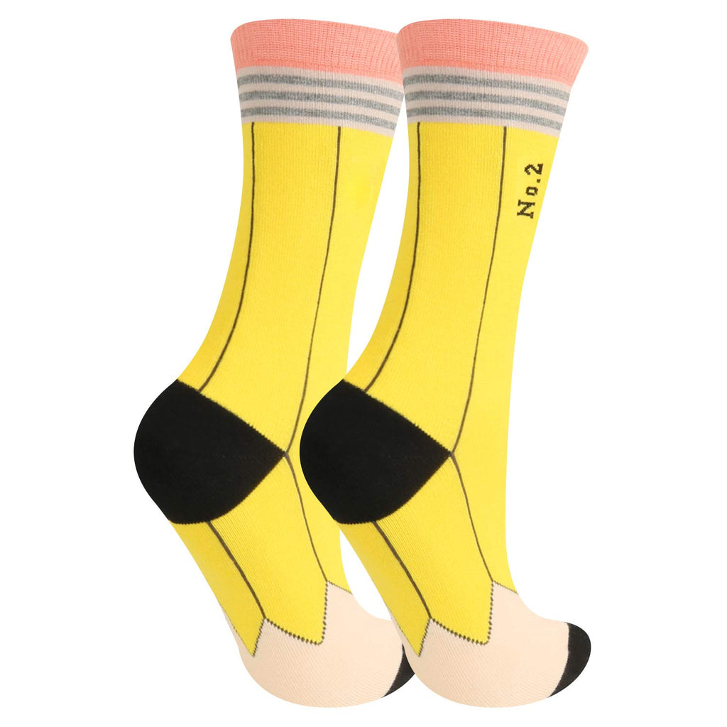 No.2 Pencil Socks - Happypop