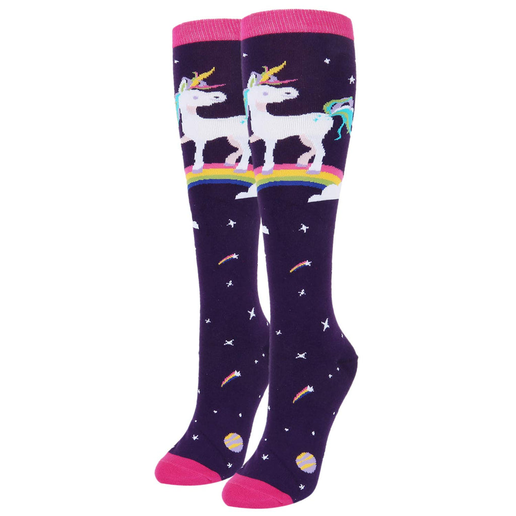 Space Unicorn Socks - Happypop