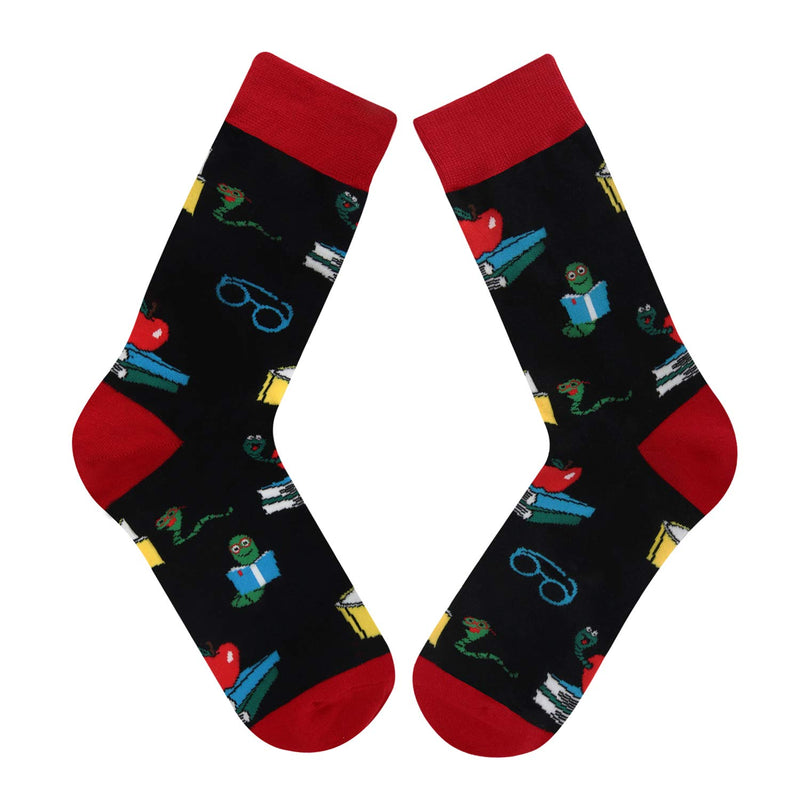 Book worm Socks - Happypop