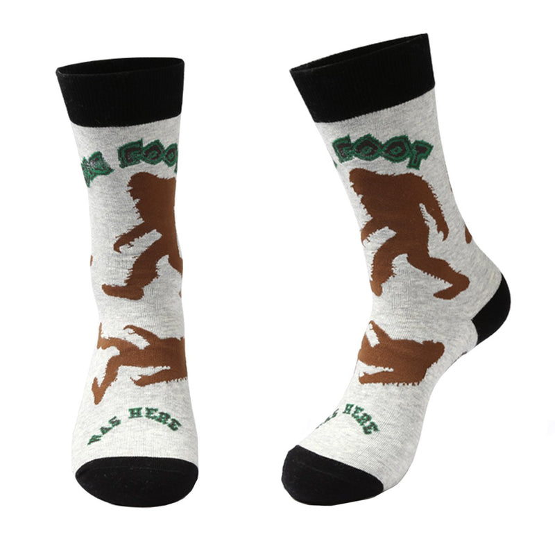 Big Foot Yeti Alien Socks - Happypop