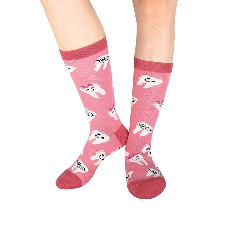 Dental Happy Teeth Socks - Happypop