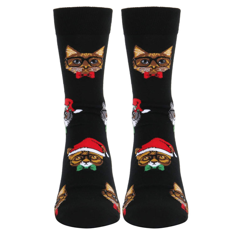 Bow Cat Socks - Happypop