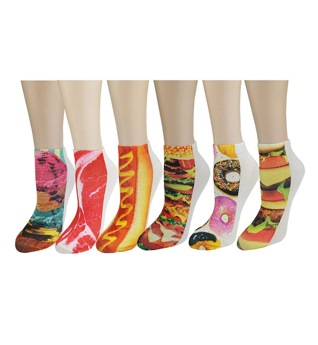Printed 3D Food Socks