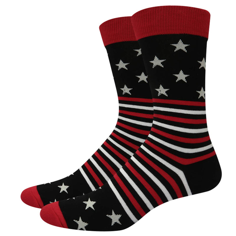 American Flag Socks Gift Box - Happypop