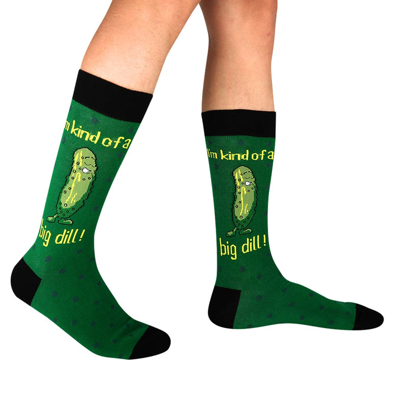 Big Dill Pun Socks - Happypop