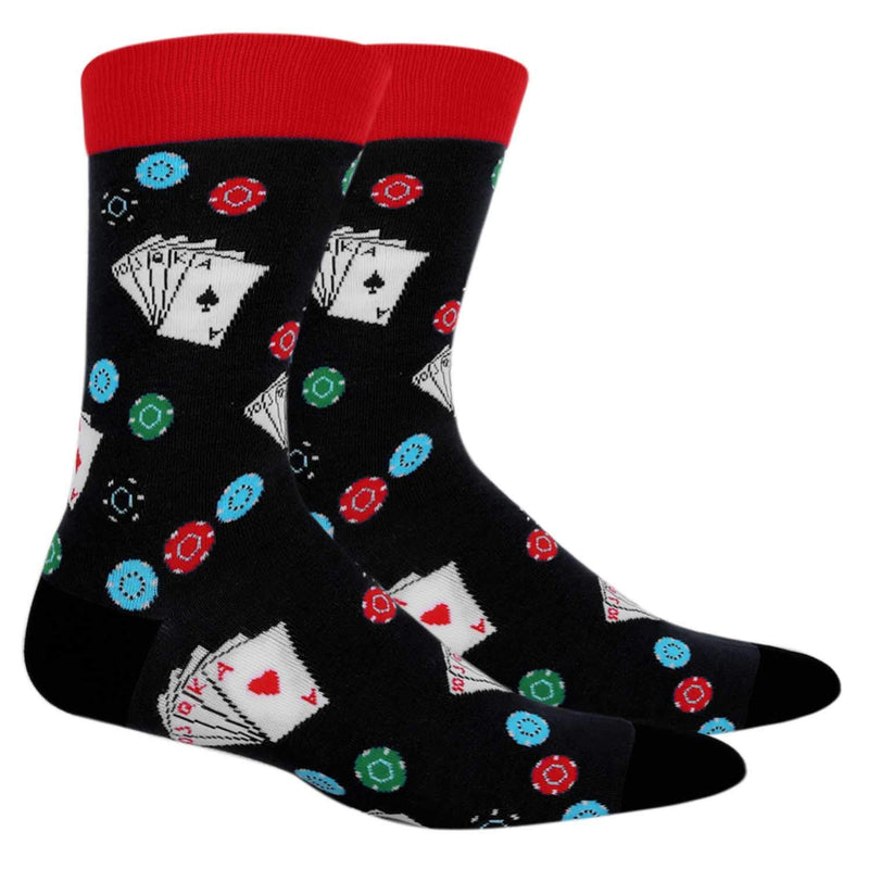Poker Chips Socks Gift Box - Happypop