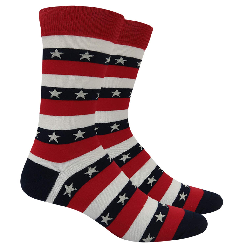Stars And Stripes Flag Socks - Happypop