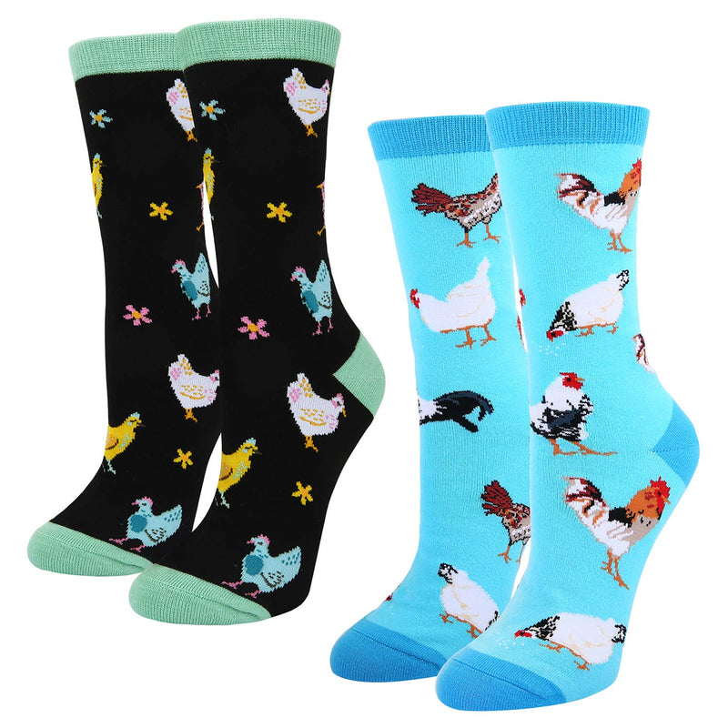 Chicken Socks Gift Box - Happypop