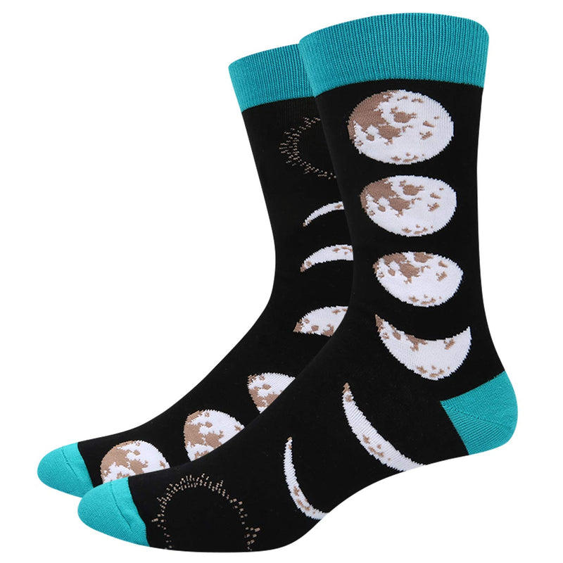 Space Moon Socks - Happypop