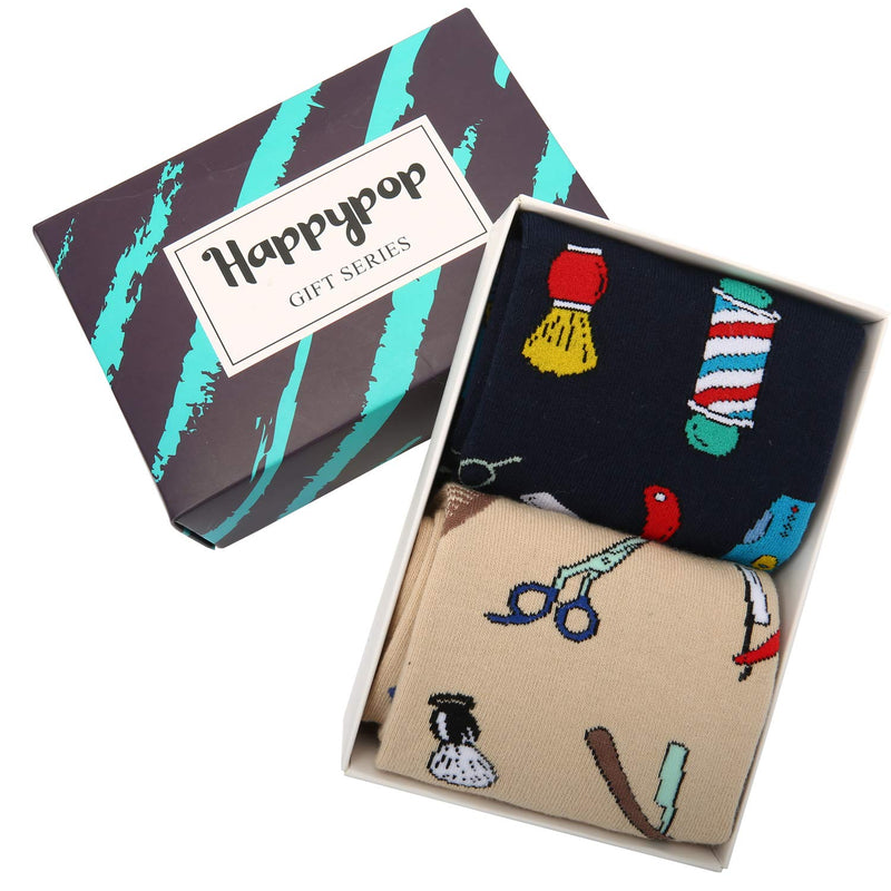 Barber Socks Gift Box - Happypop