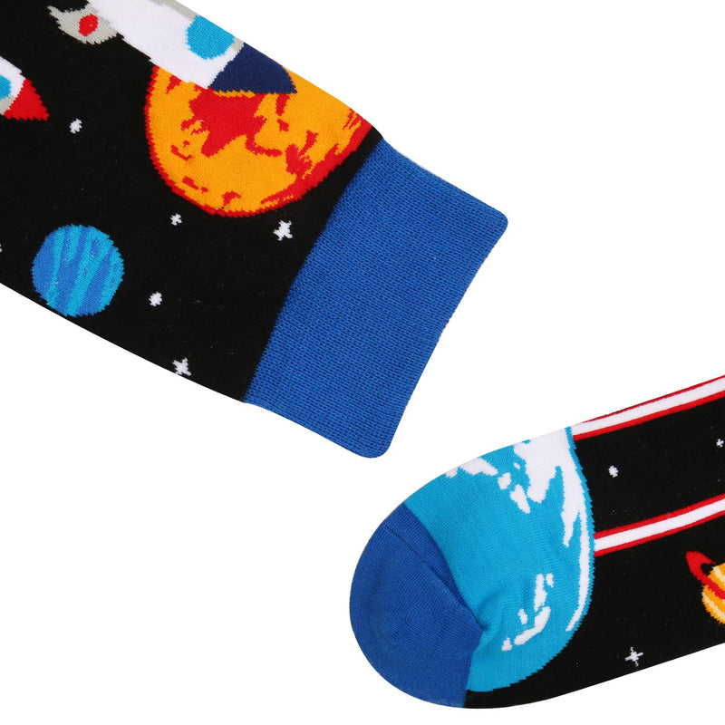 Space Rocket Socks - Happypop