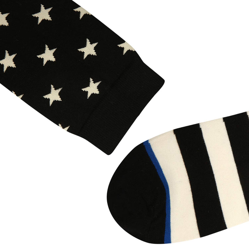Stars Stripes Socks - Happypop