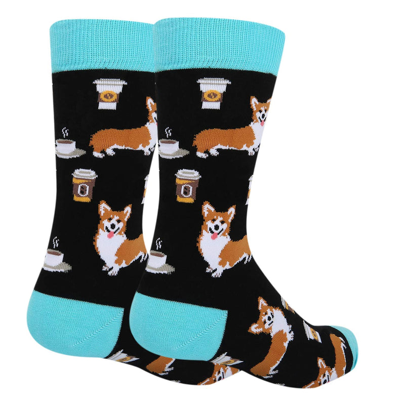 Coffee Corgi Socks - Happypop