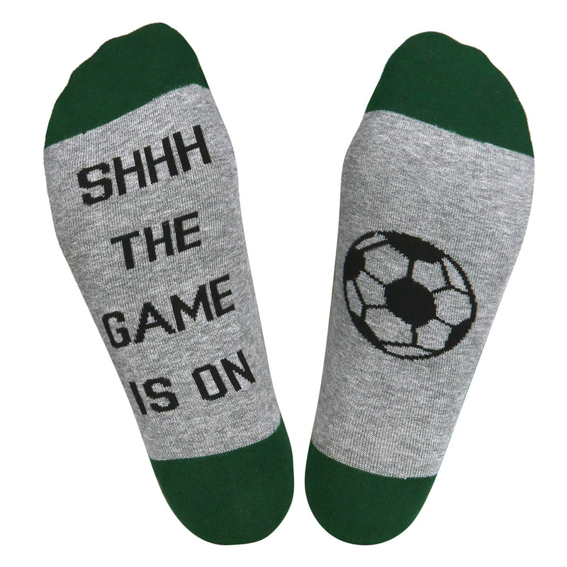 Saying Soccer Socks - Happypop