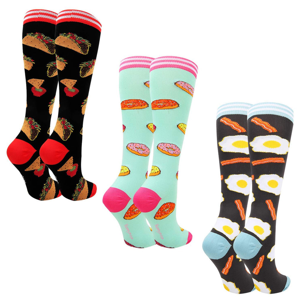 Food Knee high Socks
