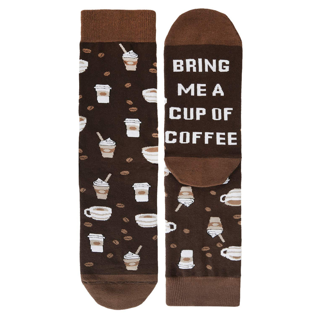 Saying Coffee Socks - Happypop