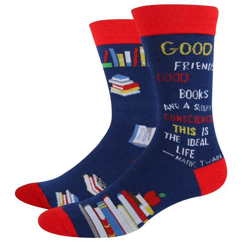 Book Student Socks - Happypop