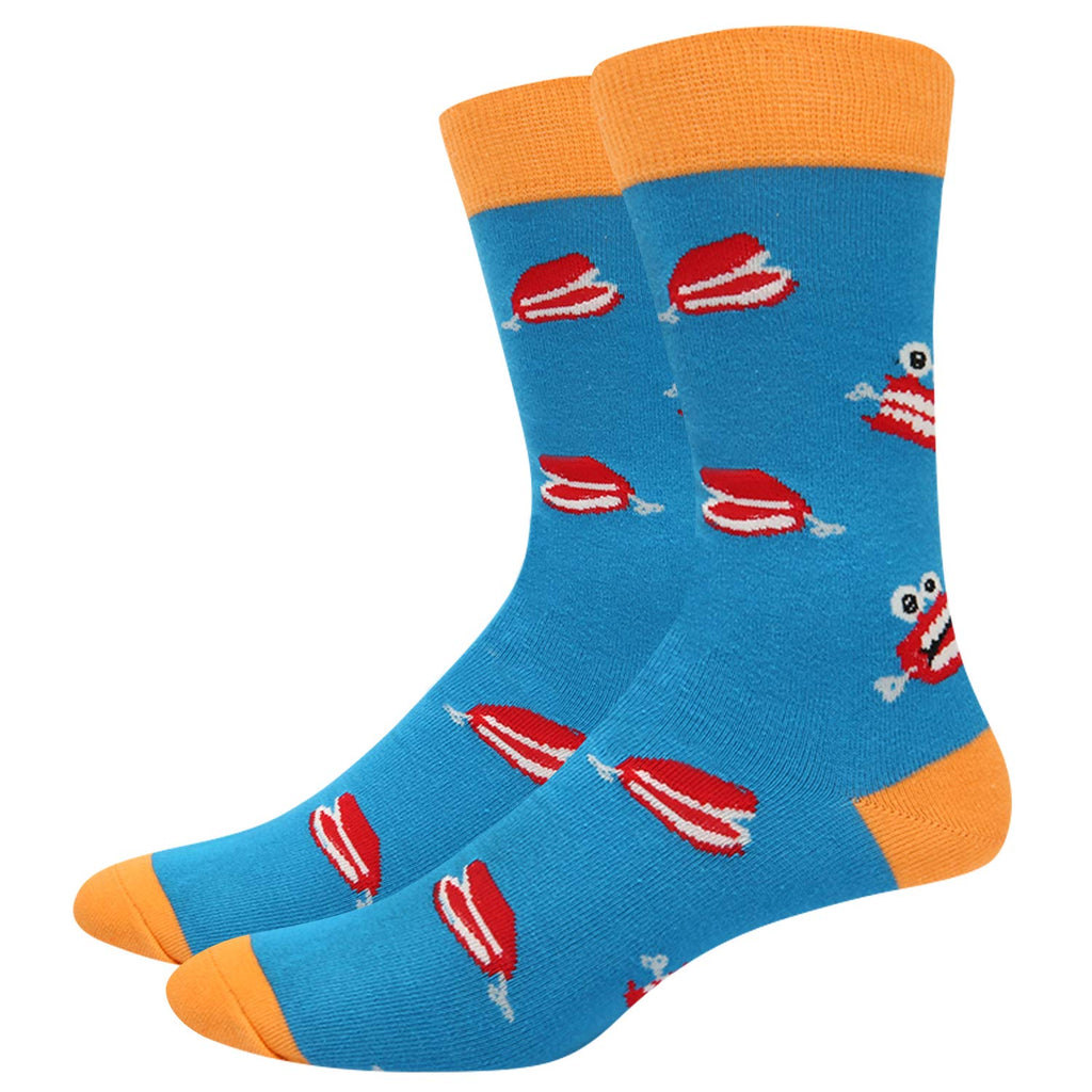 Mens Dental Teeth Toy Socks - Happypop