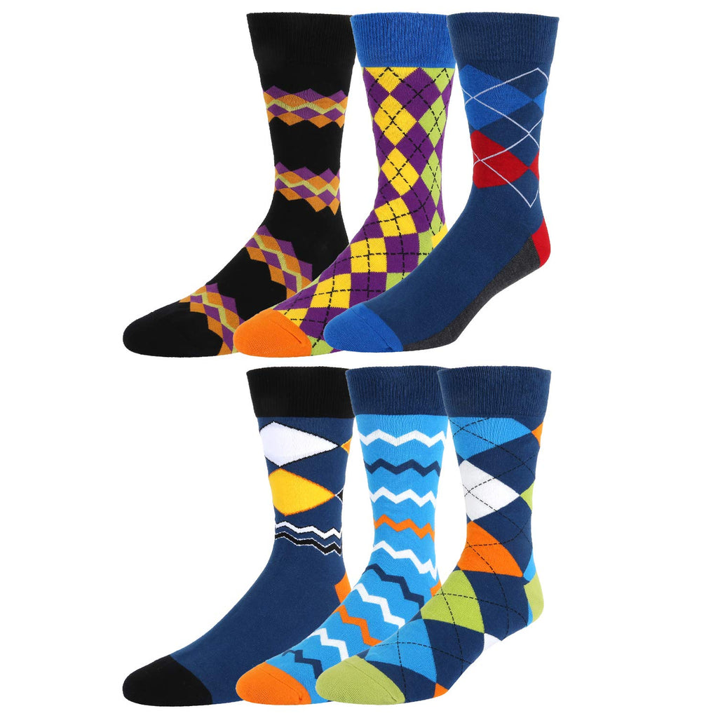 Argyle Socks Gift Box - Happypop