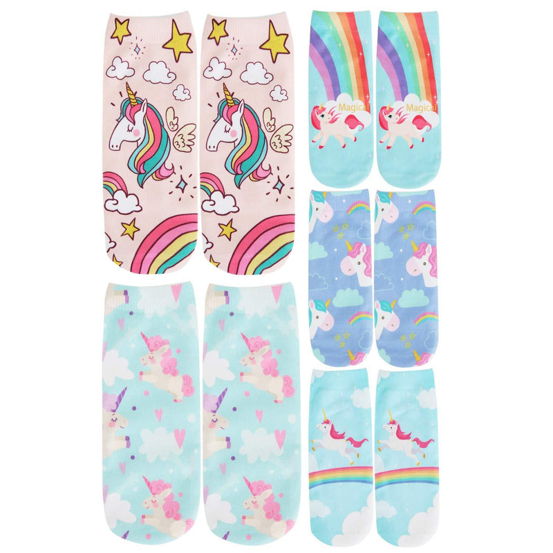 Printed Cartoon Socks Series - Happypop