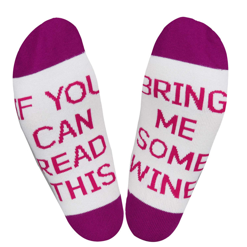 Saying Wine Socks - Happypop