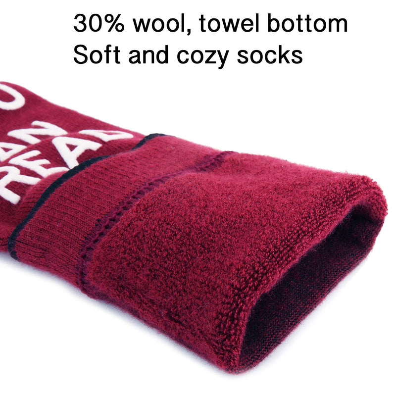 Saying Wool Socks - Happypop