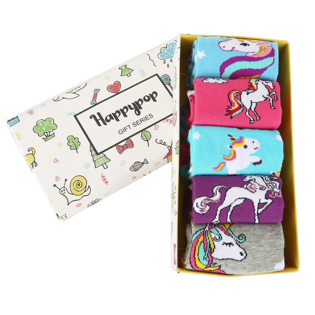 Kids Unicorn Socks Gift Box - Happypop