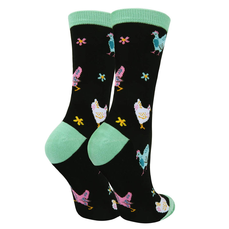 Colorful Chicken Socks - Happypop