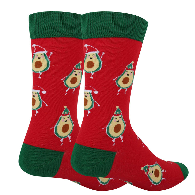 Christmas Avocado Socks