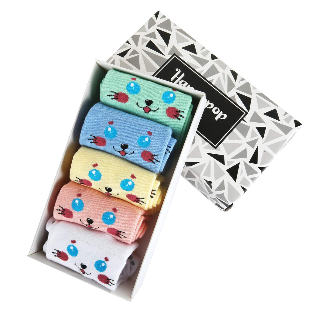 Kids Kitty Socks Gift Box - Happypop