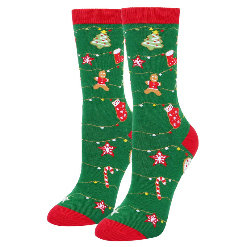 Christmas Cookies Socks