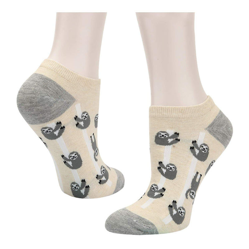 Sloth Ankle Socks - 2 Pack - Happypop