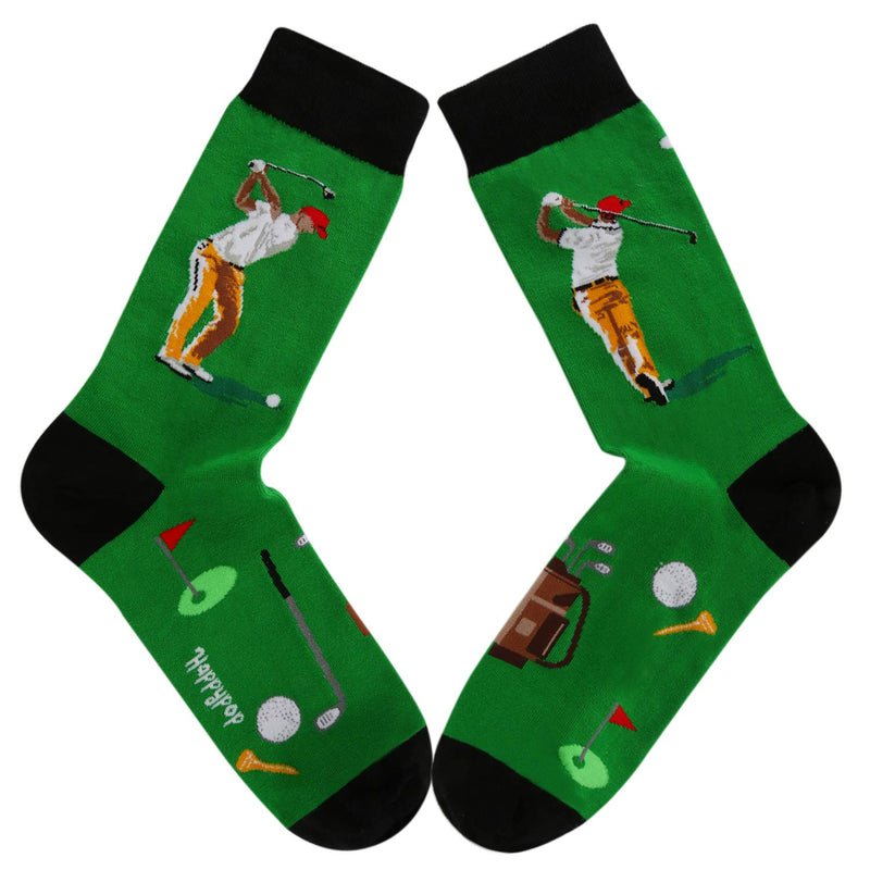 Golf Golfer Socks - Happypop