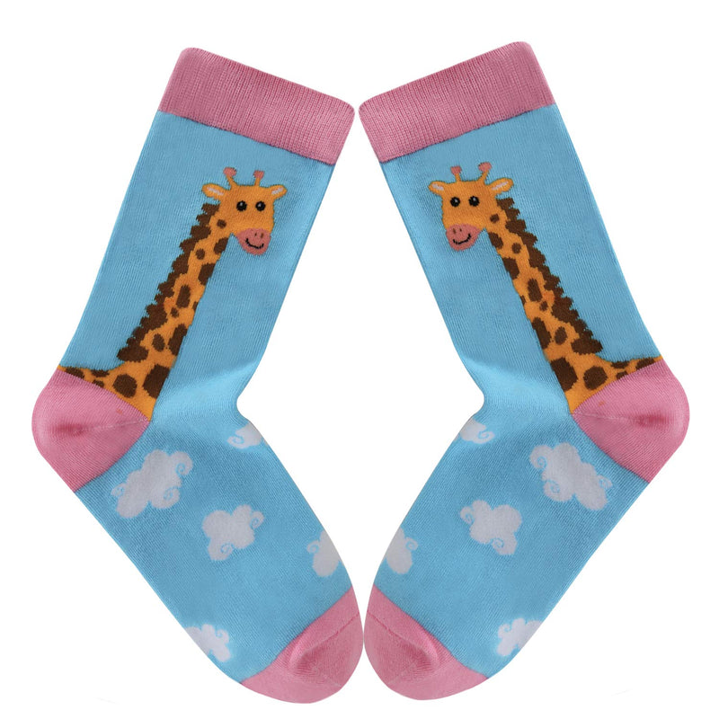 Girls Animals Socks Gift Box - Happypop