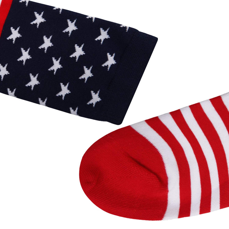 Stars And Stripes Socks - Happypop