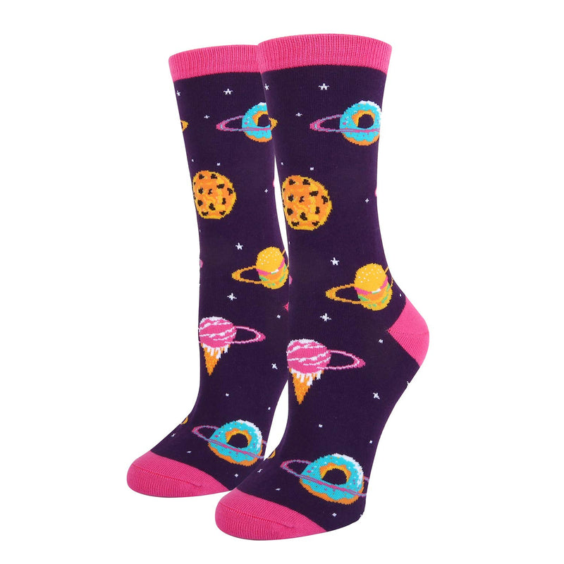 Space Donuts Socks - Happypop